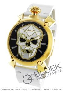 ガガミラノ マヌアーレ45MM バイオニックスカル 世界限定500本 腕時計 メンズ GaGa MILANO 6014.02S