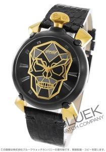 ガガミラノ マヌアーレ45MM バイオニックスカル 世界限定500本 腕時計 メンズ GaGa MILANO 6314.01S