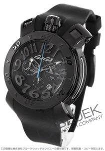 ガガミラノ クロノ48MM クロノグラフ 腕時計 メンズ GaGa MILANO 8012.01