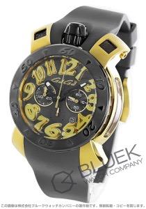 ガガミラノ クロノ48MM クロノグラフ 腕時計 メンズ GaGa MILANO 8014.01