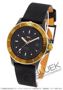 グライシン コンバット サブ キャンパスレザー 腕時計 メンズ GLYCINE GL0093