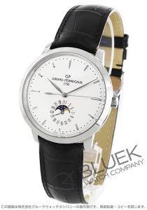 ジラールペルゴ 1966 デイト ムーンフェイズ アリゲーターレザー 腕時計 メンズ Girard-Perregaux 49545-11-131-BB60