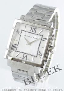 ハミルトン ジャズマスター スクエア ダイヤ 腕時計 レディース HAMILTON H32291114