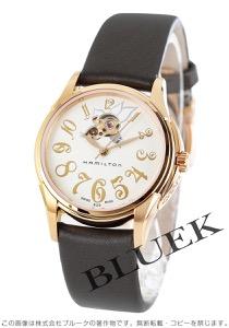 ハミルトン ジャズマスター レディ サテンレザー 腕時計 レディース HAMILTON H32345483