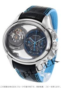 ハミルトン ジャズマスター フェイス2フェイス 世界限定888本 クロノグラフ デュアルタイム 腕時計 メンズ HAMILTON H32856705