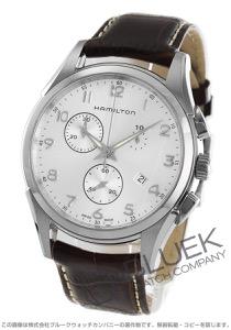 ハミルトン ジャズマスター シンライン クロノグラフ 腕時計 メンズ HAMILTON H38612553