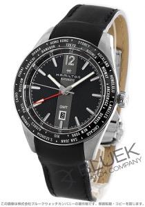 ハミルトン ブロードウェイ オート 世界限定2018本 GMT 腕時計 メンズ HAMILTON H43725731