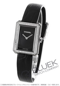 シャネル ボーイフレンド ダイヤ アリゲーターレザー 腕時計 レディース CHANEL H4883