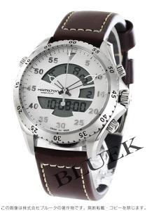 ハミルトン カーキ アビエーション フライトタイマー デュアルタイム 腕時計 メンズ HAMILTON H64514551
