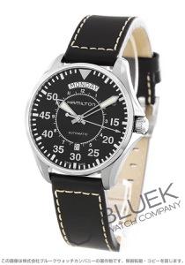 ハミルトン カーキ アビエーション パイロット デイデイト オート 腕時計 メンズ HAMILTON H64615735