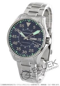 ハミルトン カーキ アビエーション パイロット オート 腕時計 メンズ HAMILTON H64715145