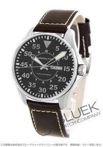ハミルトン カーキ アビエーション パイロット デイデイト オート 腕時計 メンズ HAMILTON H64715535