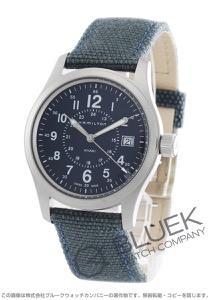 ハミルトン カーキ フィールド キャンパスレザー 腕時計 メンズ HAMILTON H68201943