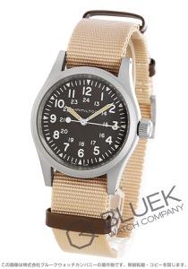 ハミルトン カーキフィールド メカニカル キャンパスレザー 腕時計 メンズ HAMILTON H69439901
