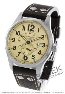 ハミルトン カーキ オフィサー 腕時計 メンズ HAMILTON H70655723