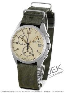 ハミルトン カーキ アビエーション パイロット パイオニア クロノグラフ 腕時計 メンズ HAMILTON H76552955