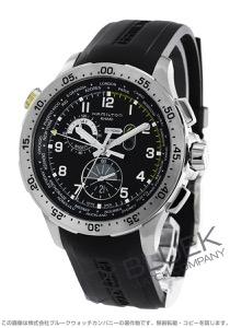 ハミルトン カーキ アビエーション ワールドタイマー クロノグラフ 腕時計 メンズ HAMILTON H76714335