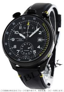 ハミルトン カーキ アビエーション テイクオフ 世界限定1999本 クロノグラフ 腕時計 メンズ HAMILTON H76786733