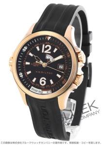 ハミルトン カーキ ネイビー GMT 腕時計 メンズ HAMILTON H77545735