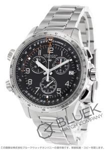 ハミルトン カーキ アビエーション X-ウィンド クロノグラフ GMT 腕時計 メンズ HAMILTON H77912135