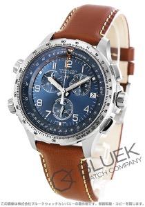 ハミルトン カーキ アビエーション X-ウィンド クロノグラフ GMT 腕時計 メンズ HAMILTON H77922541