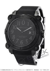 ハミルトン カーキ ネイビー ビロウゼロ 1000m防水 替えベルト付き 腕時計 メンズ HAMILTON H78585333