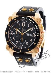 ハミルトン カーキ ネイビー ビロウゼロ クロノグラフ 腕時計 メンズ HAMILTON H78646733