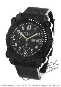 ハミルトン カーキ ネイビー ビロウゼロ クロノグラフ 腕時計 メンズ HAMILTON H78686333