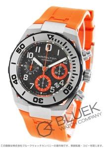 ハミルトン カーキ ネイビー サブ オートクロノ クロノグラフ 300m防水 腕時計 メンズ HAMILTON H78716983