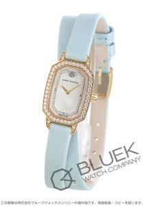 ハリーウィンストン エメラルド ダイヤ サテンレザー 腕時計 レディース Harry Winston EMEQHM18RR006