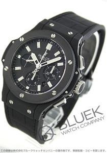 ウブロ ビッグバン エボリューション ブラックマジック クロノグラフ アリゲーターレザー 腕時計 メンズ HUBLOT 301.CI.1770.GR