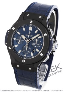 ウブロ ビッグバン スチール クロノグラフ アリゲーターレザー 腕時計 メンズ HUBLOT 301.CI.7170.LR
