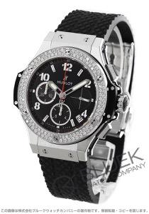 ウブロ ビッグバン スチール パヴェ クロノグラフ ダイヤ 腕時計 ユニセックス HUBLOT 341.SX.130.RX.114