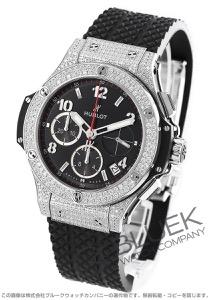 ウブロ ビッグバン スチール パヴェ クロノグラフ ダイヤ 腕時計 ユニセックス HUBLOT 341.SX.130.RX174