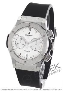 ウブロ クラシック フュージョン チタニウム オパリン クロノグラフ 腕時計 メンズ HUBLOT 521.NX.2611.RX