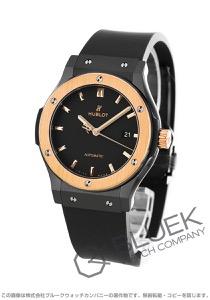 ウブロクラシック フュージョン セラミック キングゴールド 腕時計 メンズ 542.CO.1181.RX