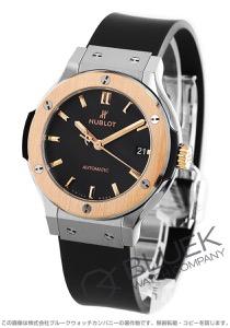ウブロ クラシック フュージョン チタニウム キングゴールド 腕時計 ユニセックス HUBLOT 565.NO.1181.RX