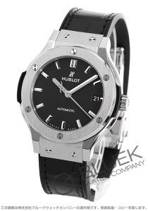 ウブロ クラシック フュージョン チタニウム アリゲーターレザー 腕時計 ユニセックス HUBLOT 565.NX.1171.LR