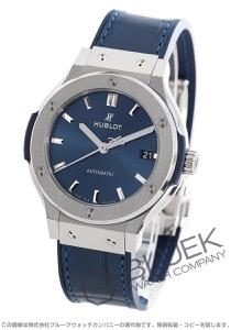 ウブロ クラシック フュージョン チタニウム アリゲーターレザー 腕時計 ユニセックス HUBLOT 565.NX.7170.LR