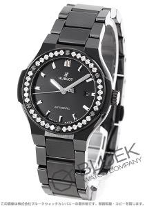ウブロ クラシック フュージョン ブラックマジック ダイヤ 腕時計 レディース HUBLOT 585.CM.1470.CM.1204