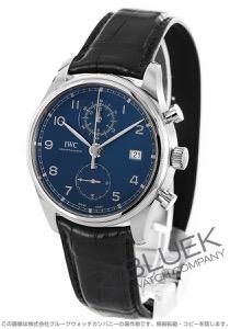 IWC ポルトギーゼ クラシック クロノグラフ アリゲーターレザー 腕時計 メンズ IWC IW390303