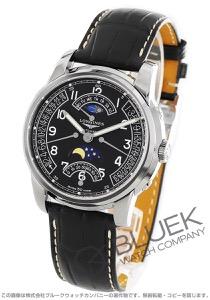 ロンジン サンティミエ レトログラード ムーンフェイズ アリゲーターレザー 腕時計 メンズ LONGINES L2.764.4.53.3
