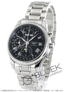 ロンジン マスターコレクション ムーンフェイズ クロノグラフ 腕時計 メンズ LONGINES L2.773.4.51.6