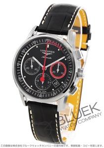 ロンジン ヘリテージ コラムホイール クロノグラフ アリゲーターレザー 腕時計 メンズ LONGINES L4.754.4.52.4