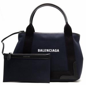 バレンシアガ トートバッグ バッグ レディース ネイビーカバス マリンブルー&ブラック 339933 K9H1N 4065 BALENCIAGA