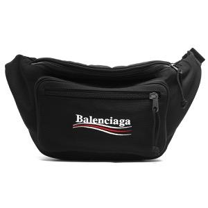 バレンシアガ ボディバッグ/ウエストバッグ/ベルトバッグ バッグ メンズ レディース エクスプローラー ブラック 482389 9WB35 1000 2019年秋冬新作 BALENCIAGA