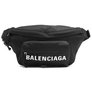 バレンシアガ ボディバッグ/ベルトバッグ/ウエストバッグ バッグ メンズ レディース ウィール ベルトパック ブラック&ネイビーブルー 533009 HPG1X 1090 2019年秋冬新作 BALENCIAGA