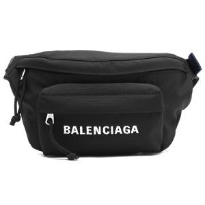 バレンシアガ ボディバッグ バッグ メンズ レディース ウィール ベルト パック S ブラック 569978 HPG1X 1090 2019年春夏新作 BALENCIAGA