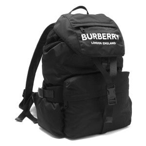 バーバリー リュックサック/バックパック バッグ メンズ レディース スモール ブラック LL WILFIN NYN 110985 A1189 8010608 BURBERRY