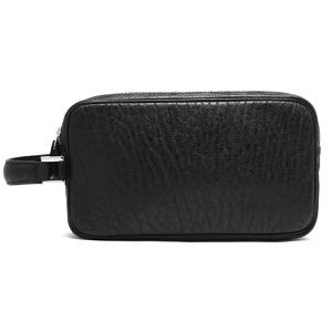 本革 セカンドバッグ バッグ メンズ シール ブラック CRAB261 BLK Leather